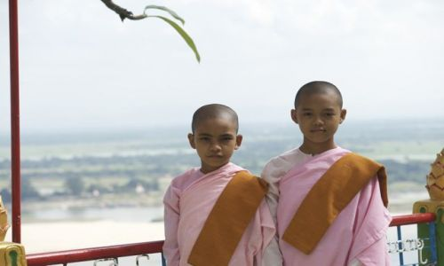 Zdjęcie MYANMAR / Kandy / Kandy / Uczniowie