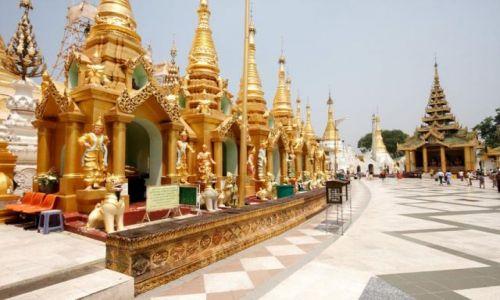 Zdjecie MYANMAR / - / Yangon / Shwe Dagon Pagoda