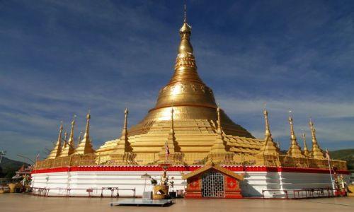 MYANMAR / - / Tachileik / Świątynia birmańska