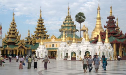 Zdjecie MYANMAR / - /  Yangon / Shwedagon Pagod