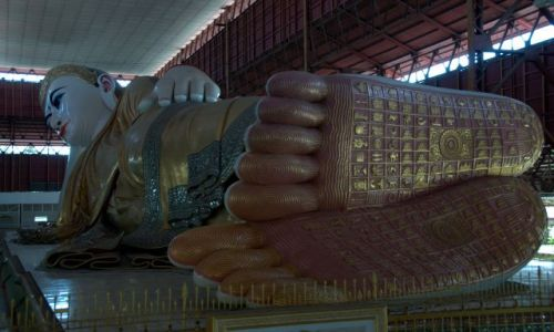 MYANMAR / - / Yangon / Chauk Htat Gyi Pagoda