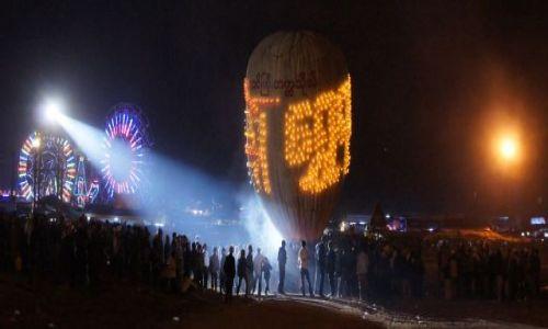 MYANMAR / BIRMA / Taunggyi / Taunggyi hot air balloon festival