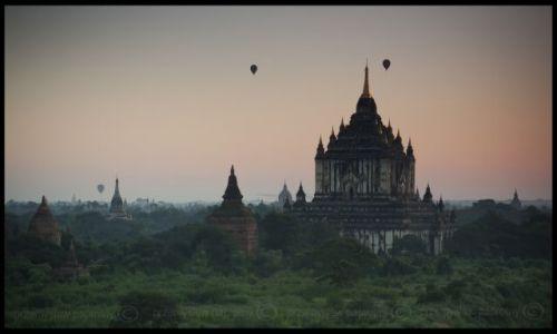 Zdjecie MYANMAR / - / Pagan / Pagan...wschód słońca
