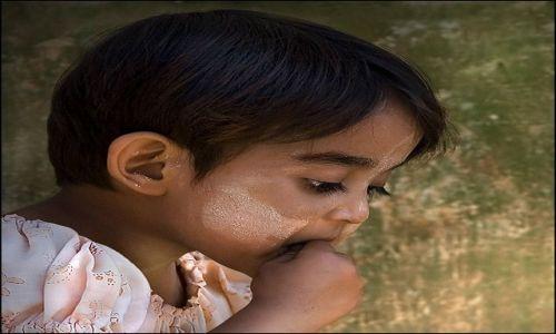 Zdjecie MYANMAR / Shan / Heho / dziewczynka z Heho