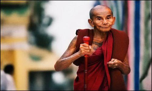 Zdjecie MYANMAR / Yangoon / Shwedogon / pielgrzymka