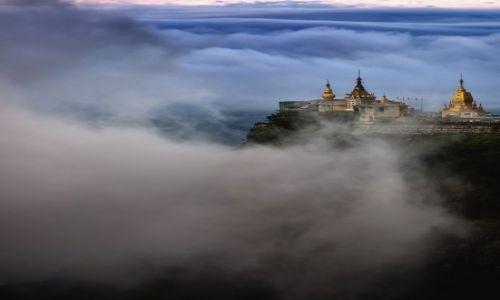 Zdjecie MYANMAR / Mandalay / Mt Popa / z dala od realn