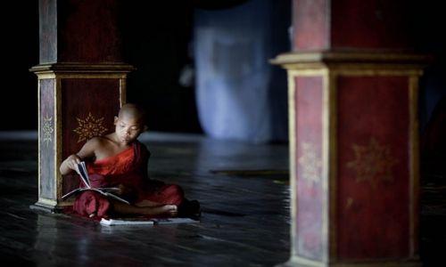 Zdjecie MYANMAR / Jezioro Inle / Jezioro Inle / Życie to wieczna nauka