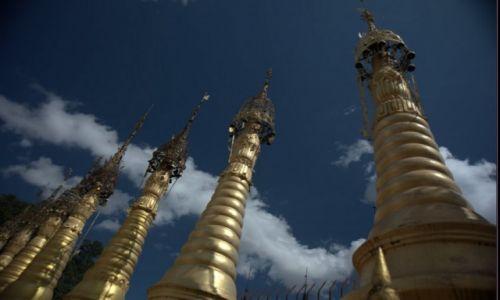 Zdjecie MYANMAR / Shan Land / Kakku / Stupy w Kakku
