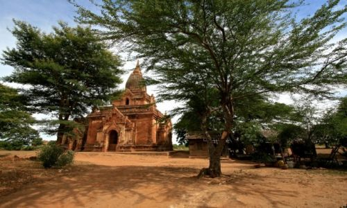 MYANMAR / - / Bagan / pagoda w bagan