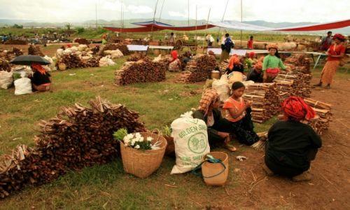 Zdjecie MYANMAR / - / Jezioro Inle / birmański targ