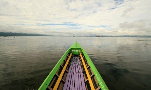 Zdjecie MYANMAR / - / Jezioro Inle / na jeziorze inle
