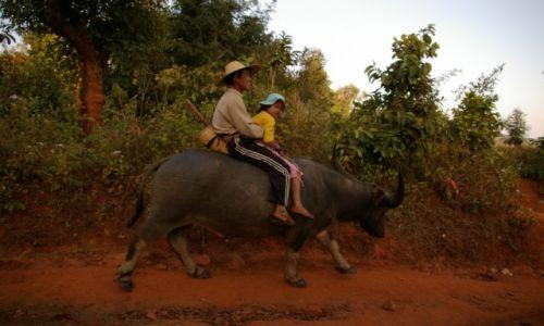 Zdjecie MYANMAR / Shan State / gdzieś między Kyaukme, a Hsipaw / Powrót do domu