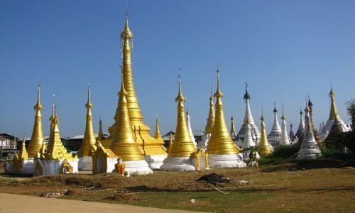 MYANMAR / stan Shan / jezioro Inle / klasztor w wiosce Ywama