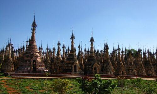 Zdjecie MYANMAR / stan Shan / Kakku / pagody w Kakku