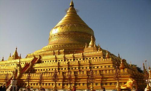 Zdjęcie MYANMAR / środkowa Borma / Stary Bagan / Shwezigon Paya