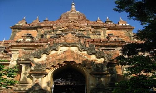 Zdjęcie MYANMAR / środkowa Birma / Stary Bagan / Htilominlo Patho