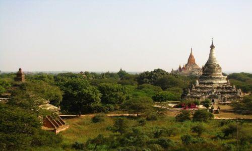 Zdjęcie MYANMAR / środkowa Birma / Stary Bagan / Pagody Baganu