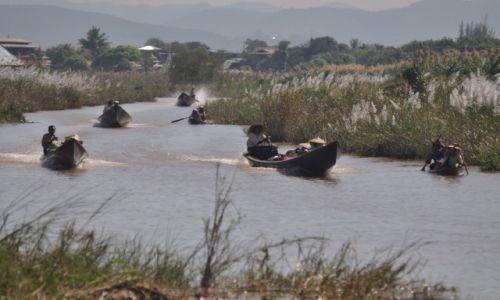 Zdjecie MYANMAR / Inle Lake / Inle Lake / Pocztówka z Birmy III