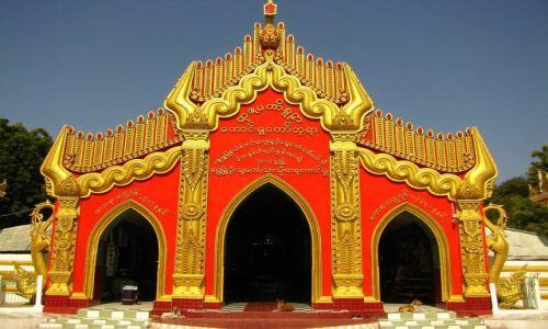 Zdjęcie MYANMAR / okolice Mandalay / Sagaing / Kaunghmudaw Paya