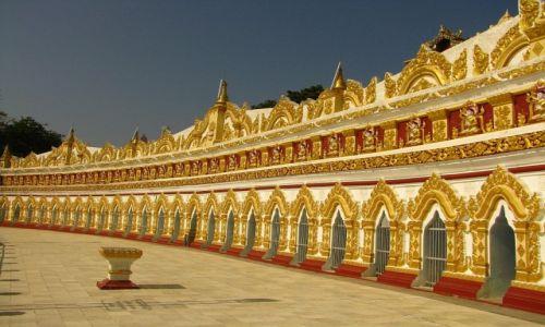Zdjęcie MYANMAR / okolice Mandalay / Sagaing / Ominthone  Sal Paya