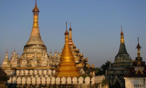 Zdjęcie MYANMAR / okolice Mandalay / Inwa / Htilaingshin Paya