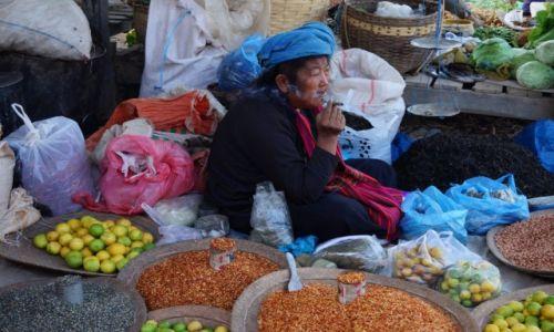 Zdjecie MYANMAR / jezioro Inle / jezioro Inle / targ