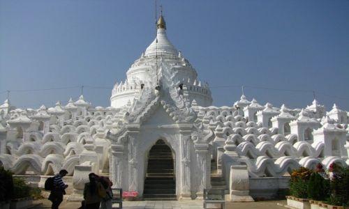 Zdjęcie MYANMAR / okolice Mandalay / Mingun / Hsinbyume Paya