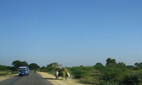 Zdjęcie MYANMAR / trasa Bagan - Thazi / . / gdzieś na drodze