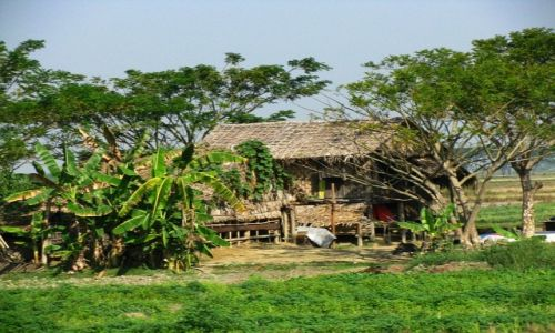 Zdjęcie MYANMAR / trasa Bago - Kinpun / . / gdzieś na drodze