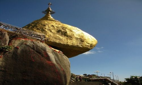 Zdjęcie MYANMAR / okolice Bago / Kyaiktiyo / Złota Skała