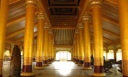 Zdjęcie MYANMAR / Bago / Bago / Kanbawzathadi Palace