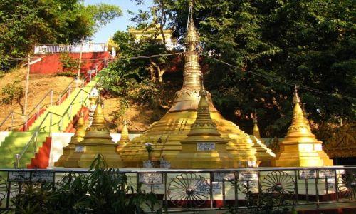 Zdjęcie MYANMAR / Bago / Bago / stupy