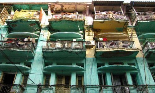 Zdjęcie MYANMAR / Yangon / Yangon / architektura Yangonu