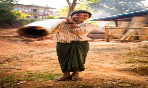 Zdjecie MYANMAR / Stan Shan / Kalaw / Najpiękniejsi ludzie świata