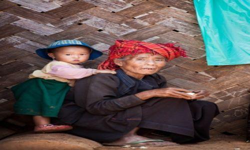 Zdjecie MYANMAR /   / Okolice Kalaw / Pokolenia
