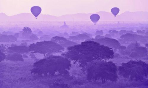 Zdjecie MYANMAR / - / Bagan / Poranek w Bagan