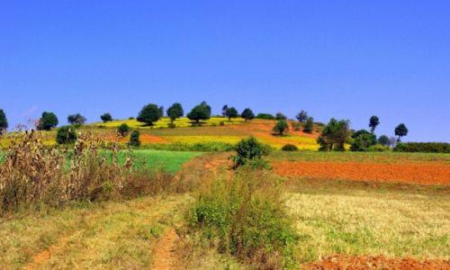 Zdjecie MYANMAR / Shan / Okolice Kalaw / Kolory Myanmaru