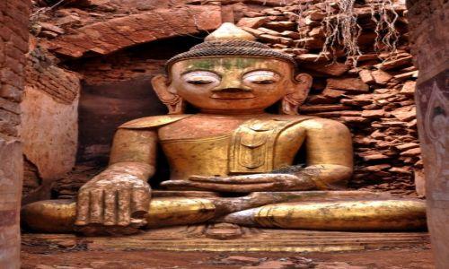 Zdjecie MYANMAR / Taunggyi / Indein / Budda