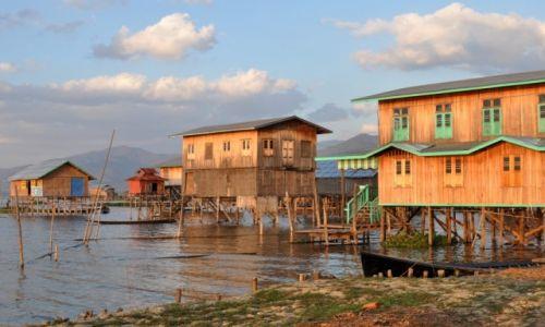 Zdjęcie MYANMAR / INLE / INLE  / Na Inle