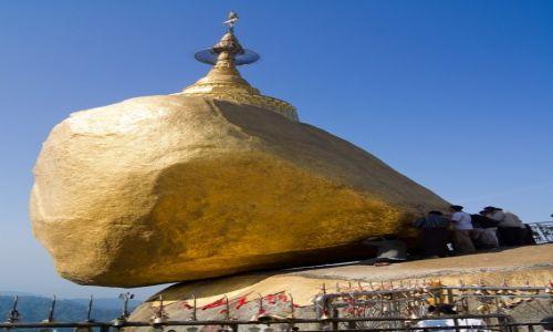 Zdjecie MYANMAR / Kyaiktiyo / Kyaiktiyo / Golden Rock