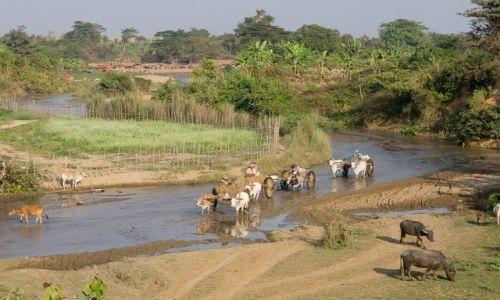 Zdjęcie MYANMAR / po drodze / po drodze / Życie przy rzece