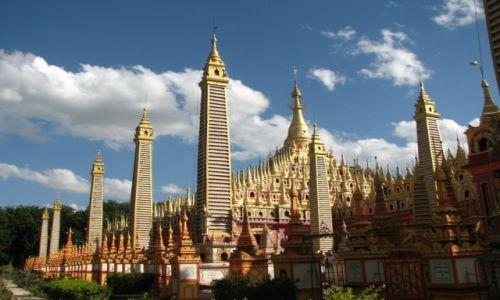 Zdjecie MYANMAR / - / MONYWA / światynia