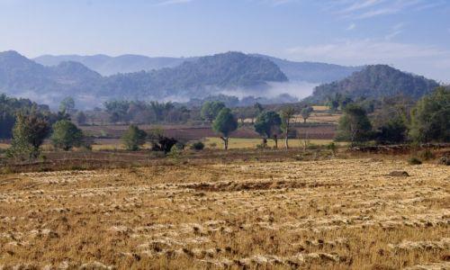 Zdjęcie MYANMAR / okolice jeziora Inle / okolice jeziora Inle / Mgły? się ścielą