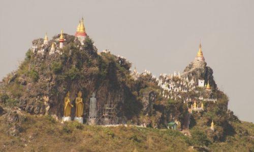 Zdjecie MYANMAR / Szan / Main-Ma-Ye Tha-Khin-Ma Mount / W kr�gu spraw w