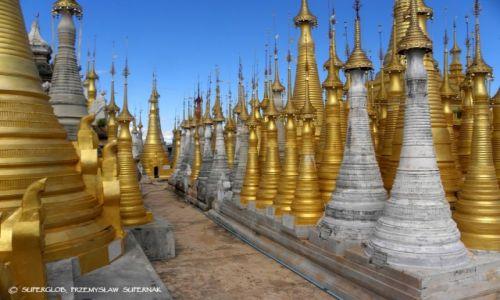 MYANMAR / Azja / Okolice Jeziora Inle / Birma 1