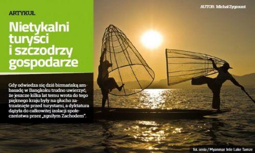Zdjęcie MYANMAR / --- / --- / Michał Zygmunt o Birmie- Magazyn Globtroter.pl Inspiracje nr 6