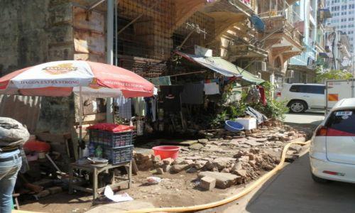 Zdjęcie MYANMAR / -Stolica / Stolica / Ulica