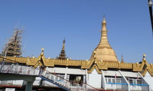 Zdjecie MYANMAR / Rangon / Dawna stolica / Z�ote dachy