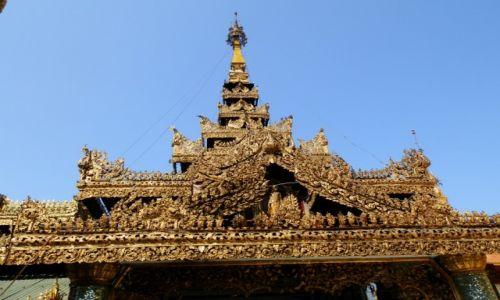 Zdjecie MYANMAR / Rangon / Rangon / Misterna robota