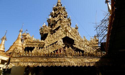 Zdjecie MYANMAR / Rangon / Rangon / Uroki architekt